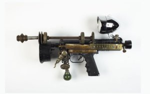 Gun artwork by Guinotte Wise