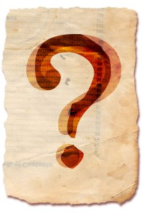 question mark cover